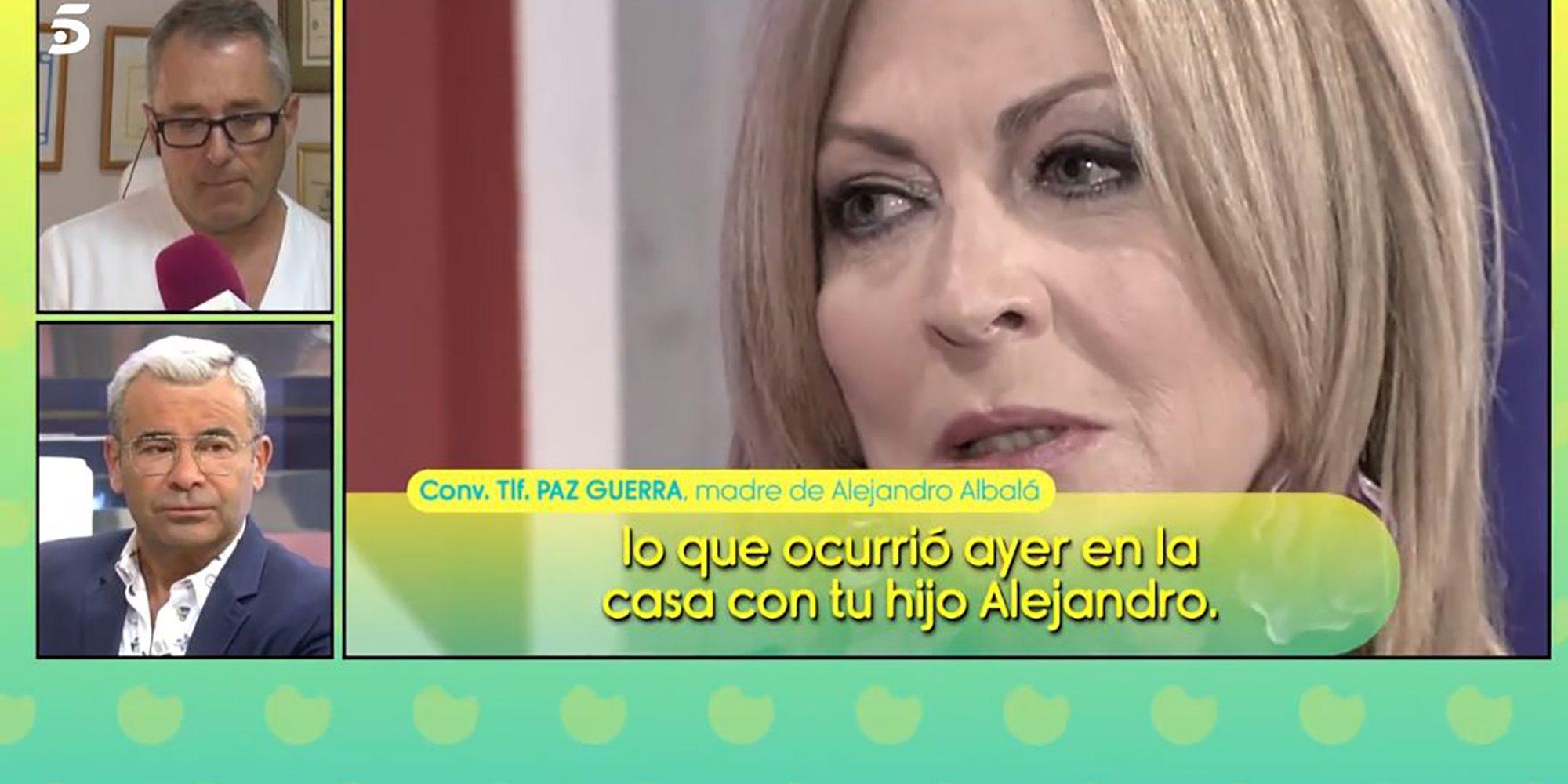"""La madre de Albalá critica duramente el comportamiento de Jorge Javier hacia su hijo: """"Me pareció patético"""""""