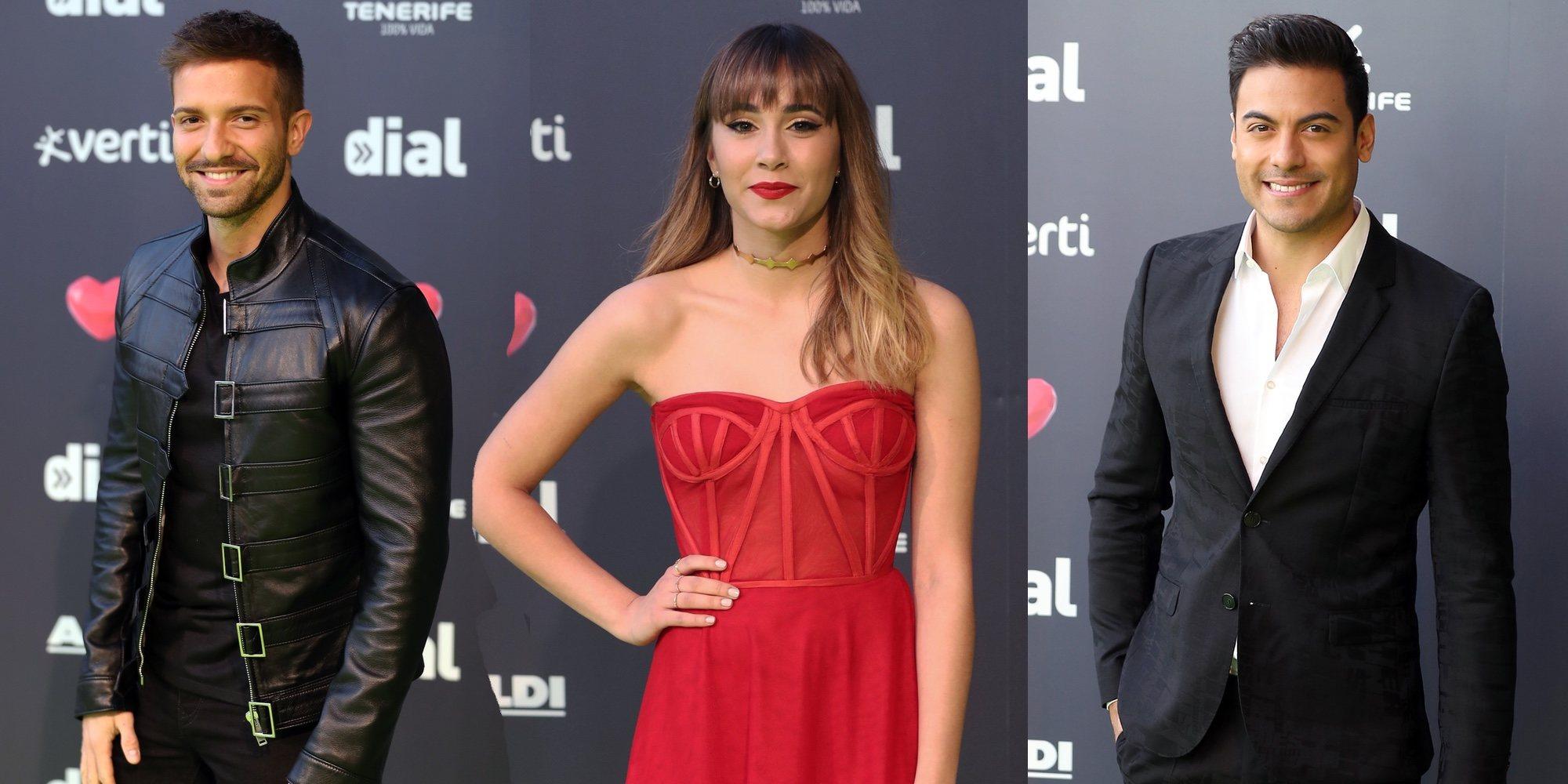 Pablo Alborán, Aitana Ocaña, Carlos Rivera... Nadie se ha querido perder los Premios Cadena Dial 2019