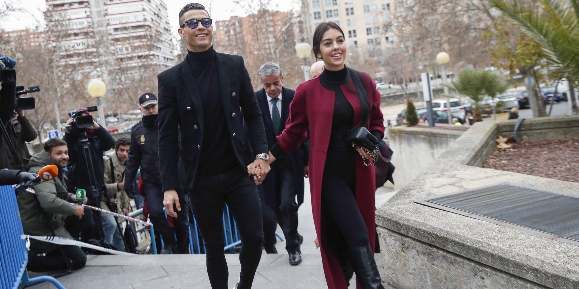 Cristiano Ronaldo inaugura su clínica de trasplante capilar junto a su mano derecha Georgina Rodríguez
