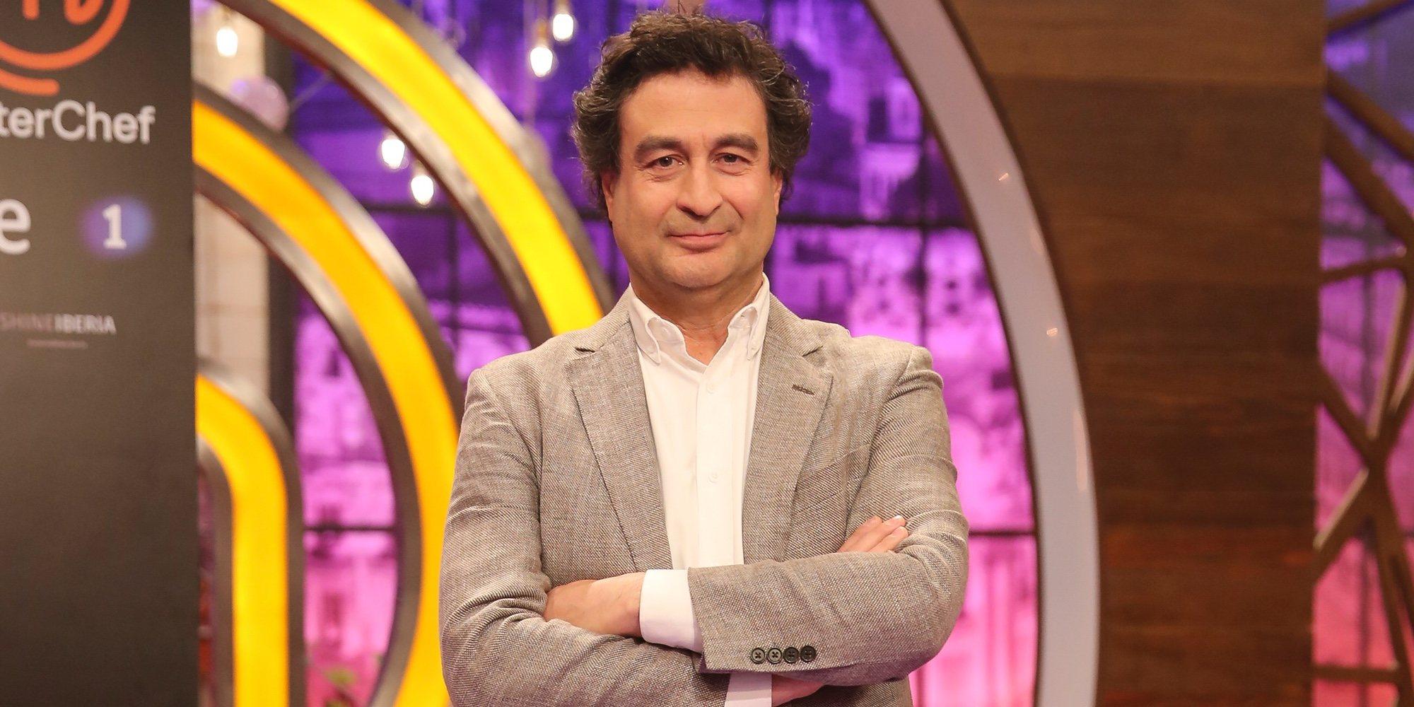 """Pepe Rodríguez, sobre la ausencia de presentadora en 'MasterChef': """"No se va a notar ningún cambio"""""""