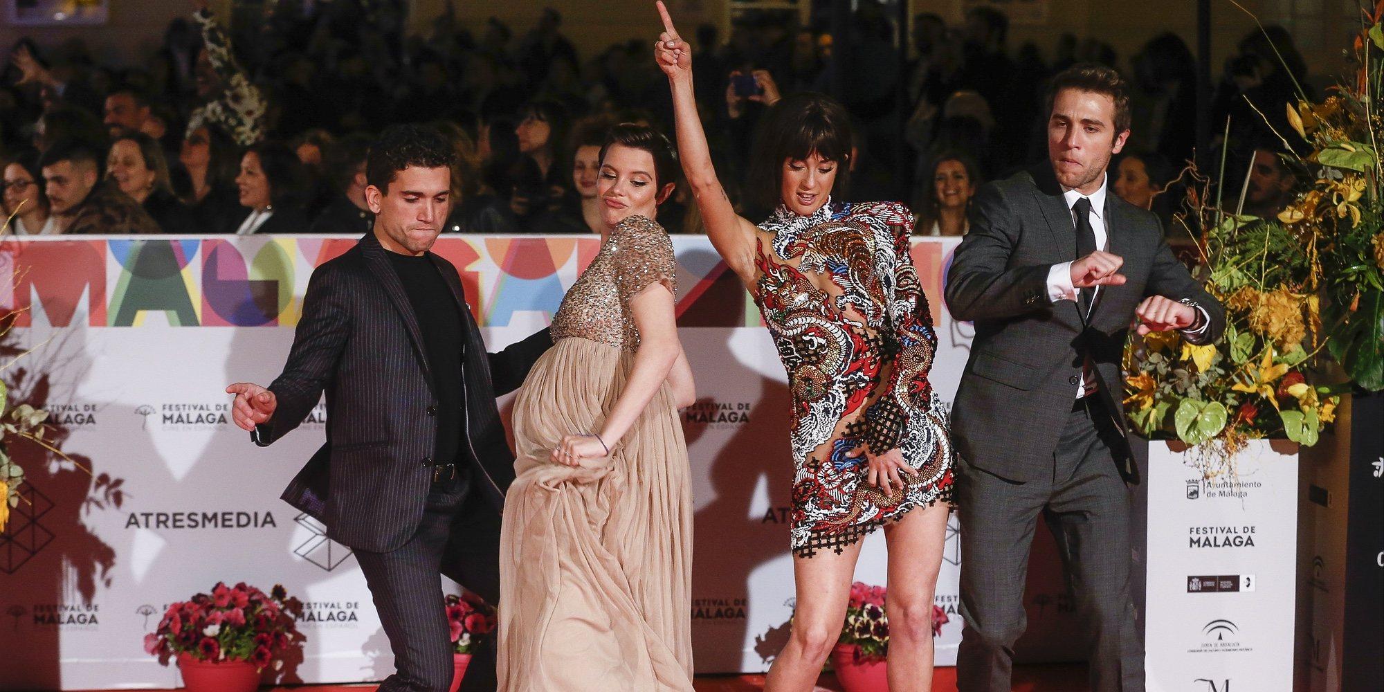 Jaime Lorente y María Pedraza, juntos pero no revueltos en el Festival de Málaga 2019
