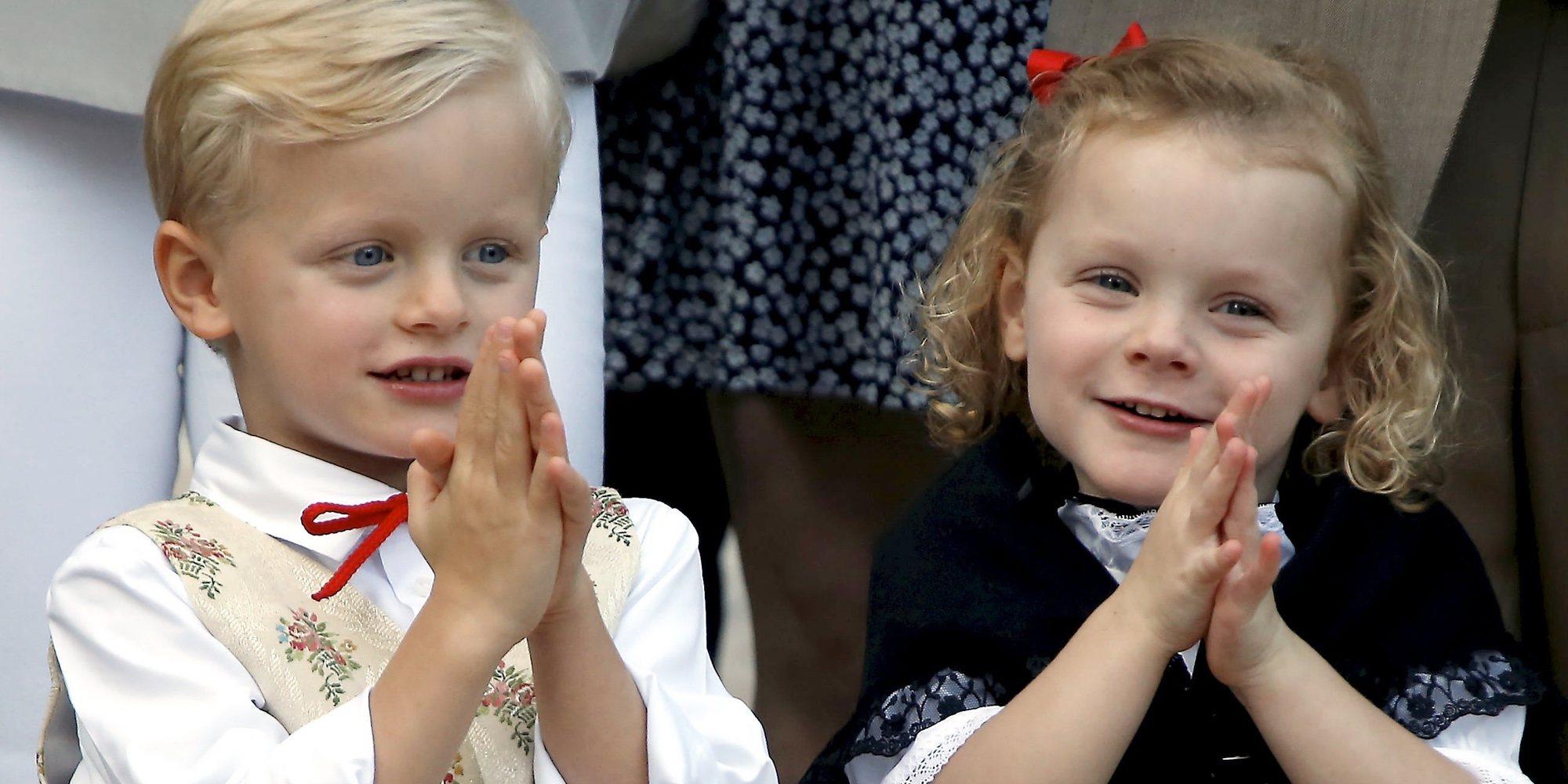 Jacques y Gabriella de Mónaco enamoran con su dulzura al Presidente de China y la Primera Dama