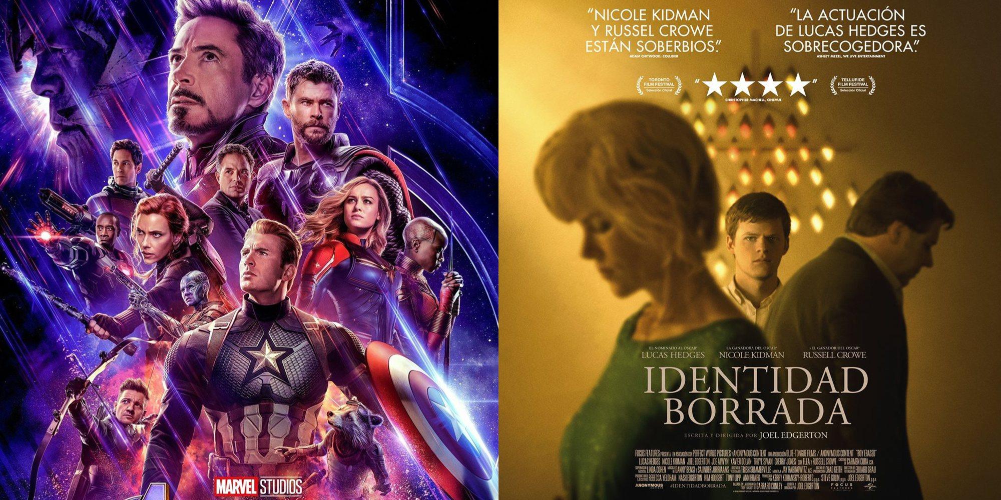 Las 5 películas más esperadas de abril de 2019