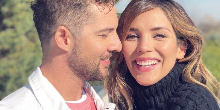 """David Bisbal y su imagen más tierna con Rosanna Zanetti: """"Esos latidos que me enamoran"""""""