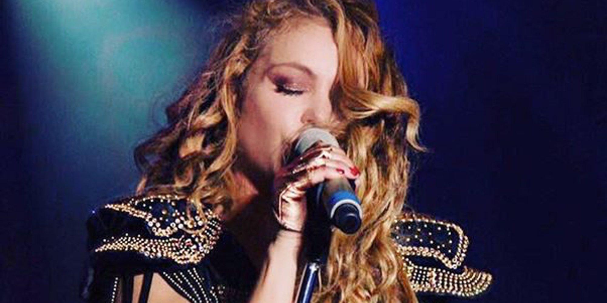 Paulina Rubio, acusada de plagiar una las canciones de Auryn