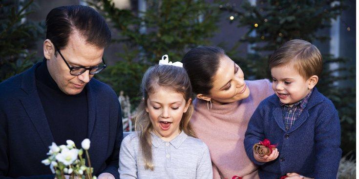 El plan familiar de Victoria y Daniel de Suecia con su hija Estela en el Museo ABBA