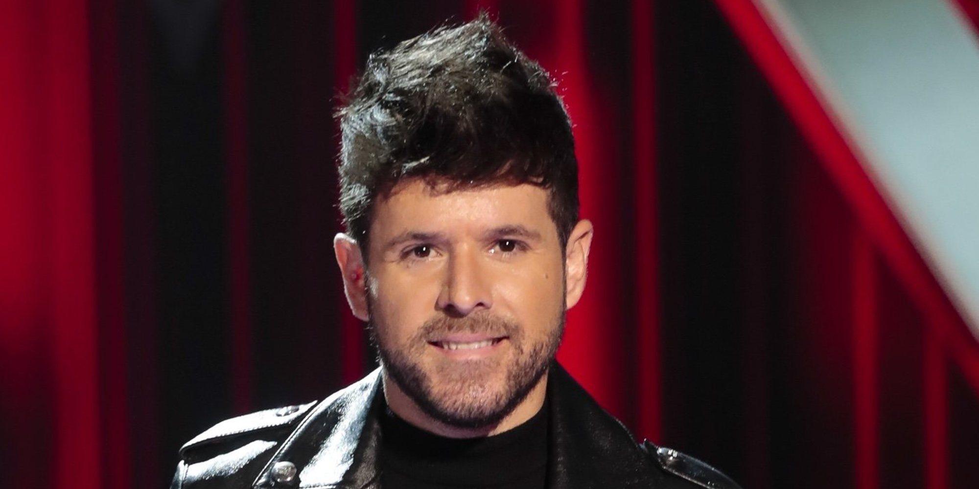 Pablo López deja sin habla a Luis Fonsi tras superar su reto en 'La Voz'