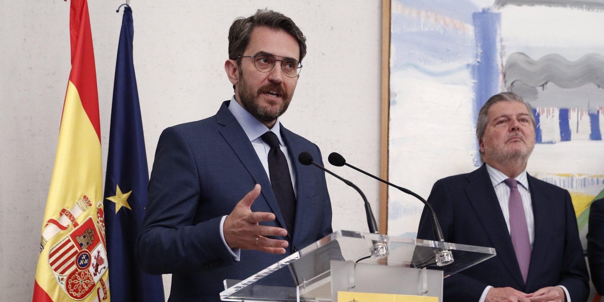 """Màxim Huerta sobre su breve paso como Ministro de Cultura: """"Con un poco de apoyo del Gobierno me habría quedado"""""""