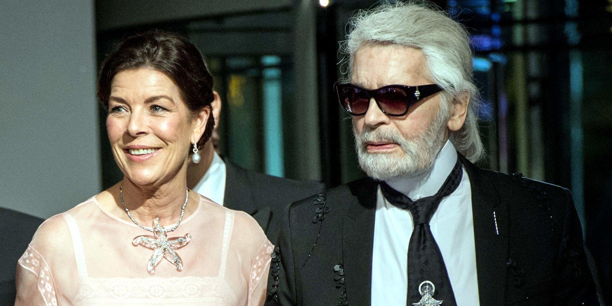"""Carolina de Mónaco sobre Karl Lagerfeld: """"Hablo de él como si estuviera vivo"""""""