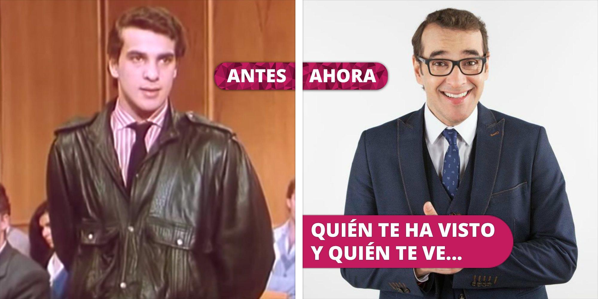Así ha cambiado Luis Merlo: De su debut televisivo en 'Turno de oficio' a su éxito en 'ANHQV', 'El internado' y 'LQSA'