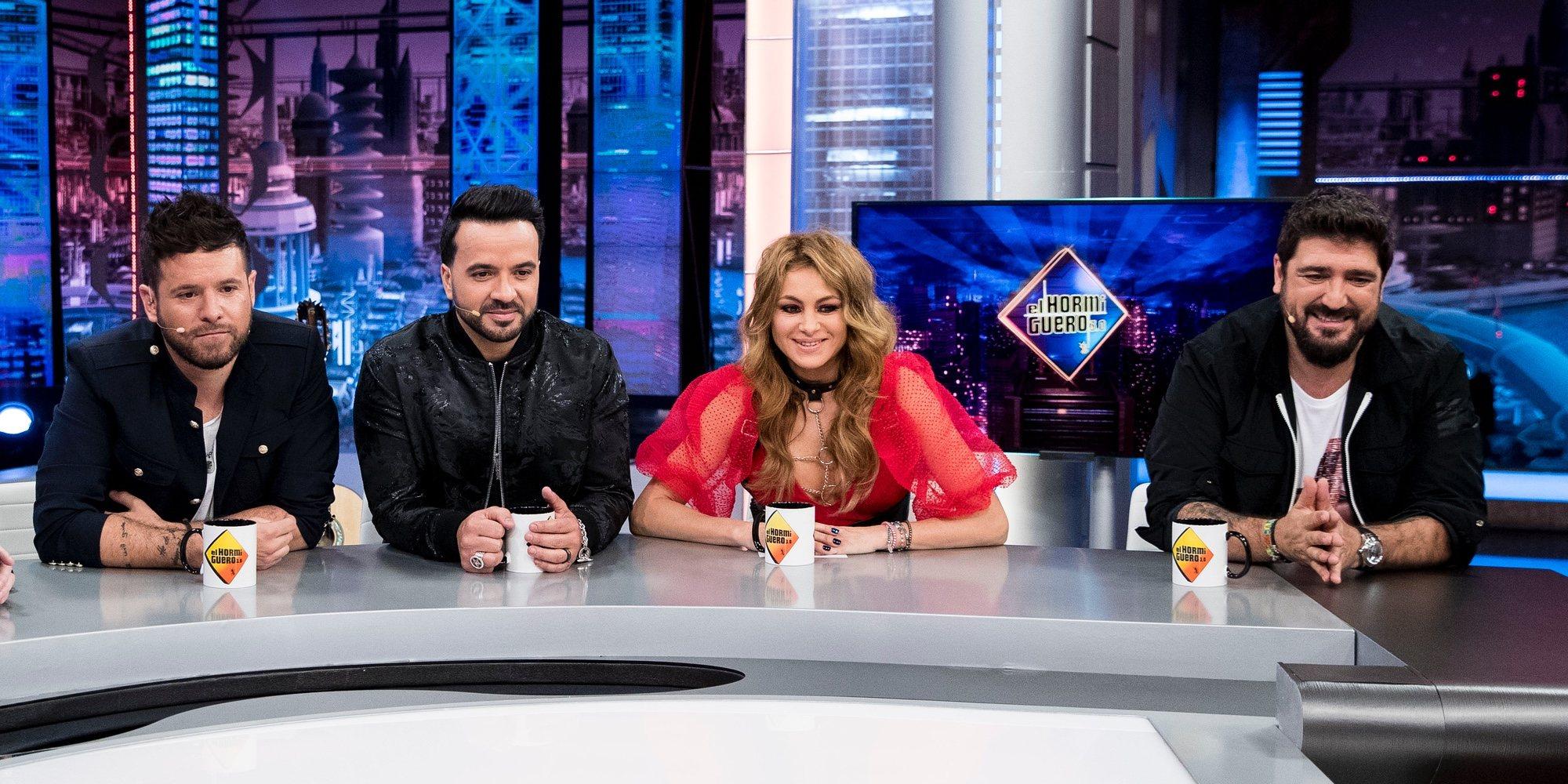 El derroche de la primera fiesta de Paulina Rubio, Pablo López, Antonio Orozco y Luis Fonsi tras 'La Voz'