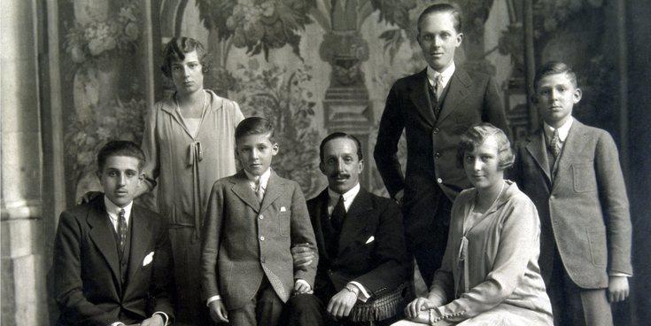 El trágico destino de los hijos de Alfonso XIII: una dinastía marcada por la hemofilia