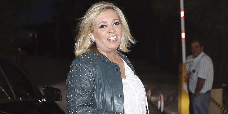Carmen Borrego, primera concursante confirmada de 'Sálvame Okupa'