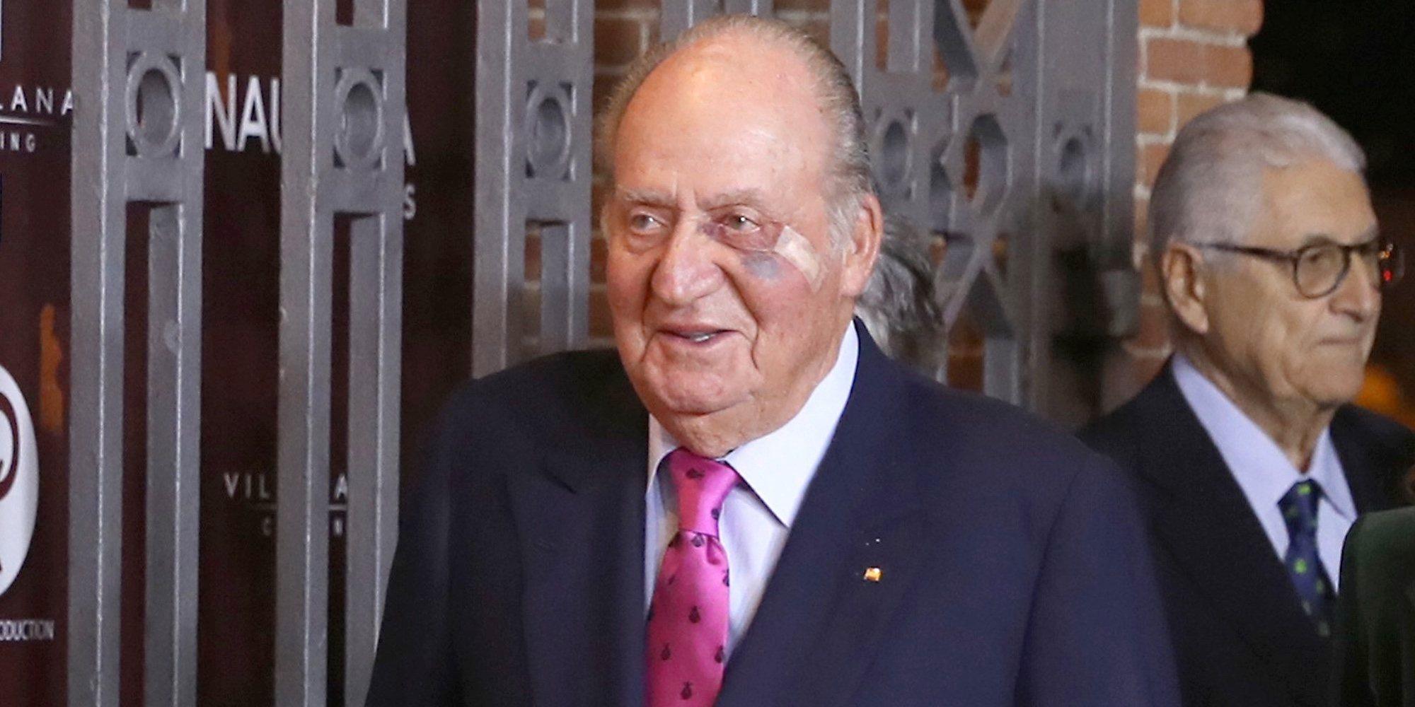El Rey Juan Carlos se recupera de su operación de carcinoma basocelular disfrutando del vino y las regatas en Galicia