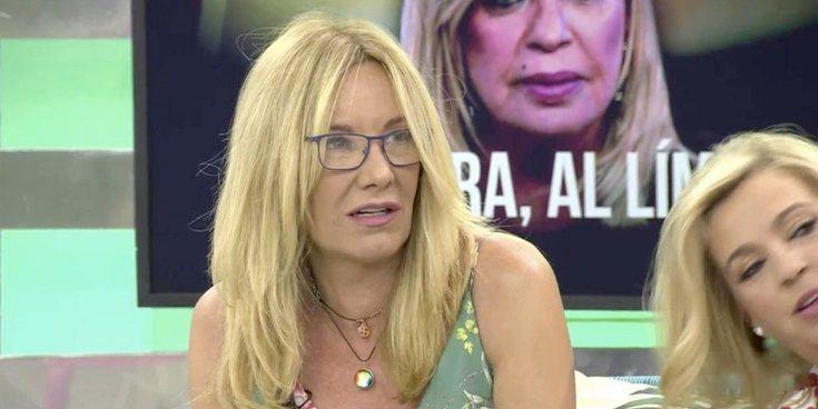 El cabreo de Belén Rodríguez con Víctor Sandoval por desvelar su edad en 'Sálvame Okupa'