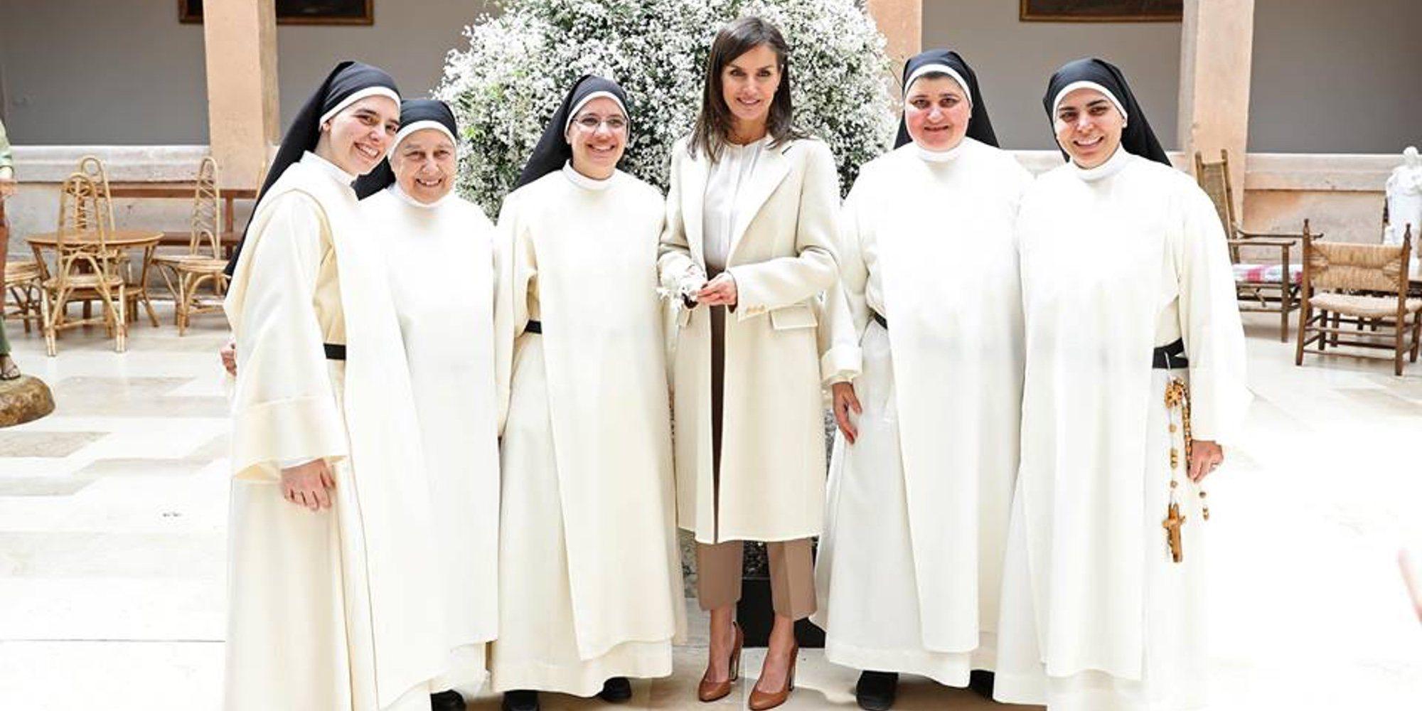 La visita sorpresa de la Reina Letizia a las monjas dominicas de Lerma