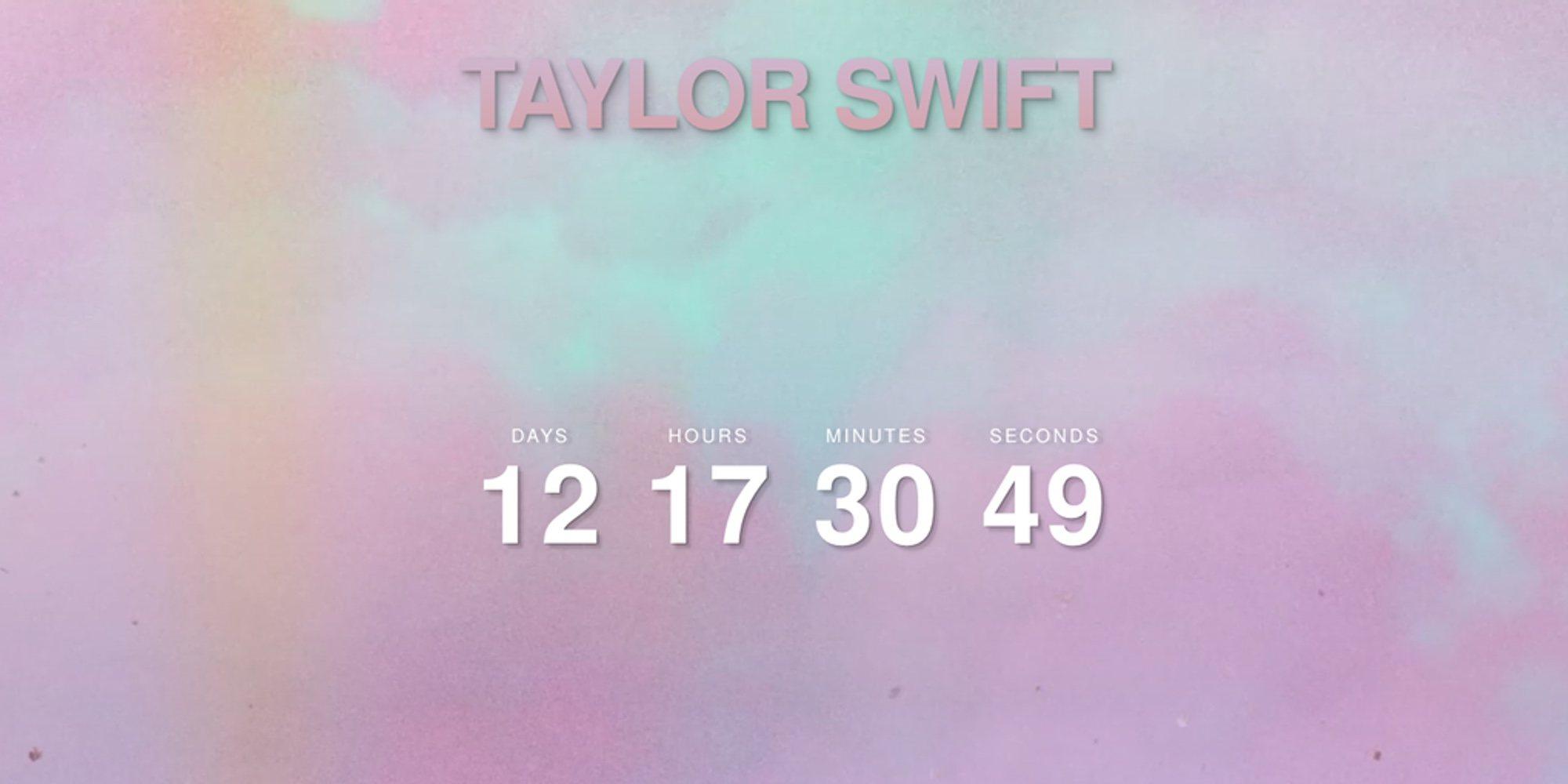 Taylor Swift pone fecha al lanzamiento de su nuevo álbum