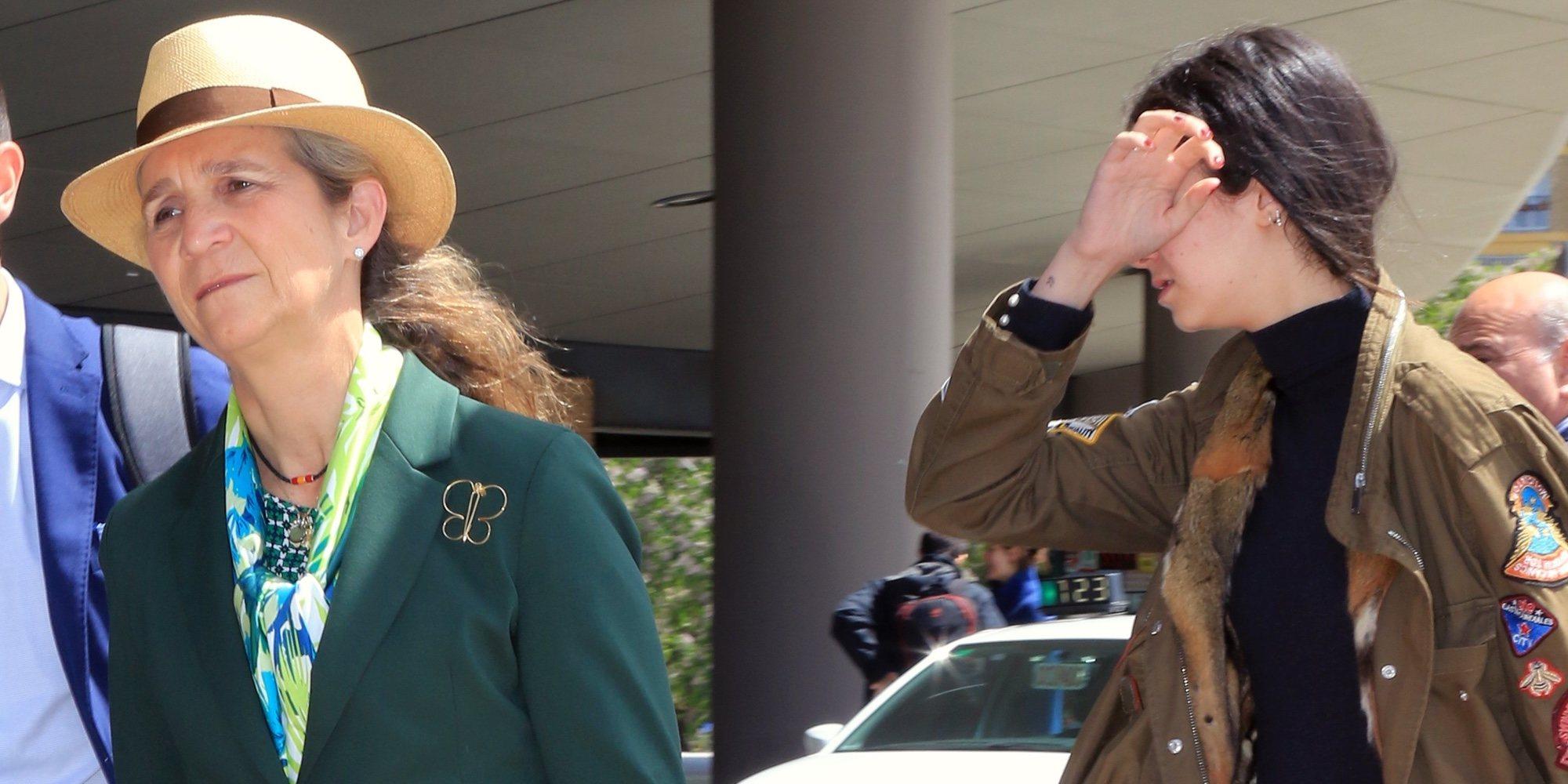 """La Infanta Elena y Victoria Federica pierden lo nervios con la prensa: """"Vaya coñazo... ¡Gentuza!"""""""