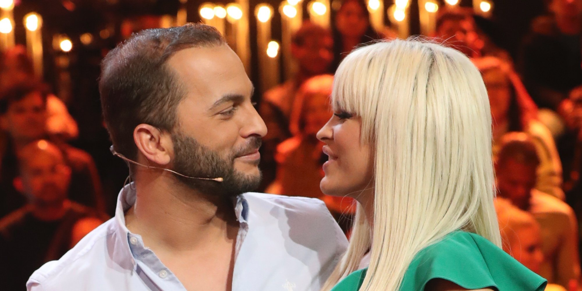 El besazo de Ylenia y Antonio Tejado en el debate final de 'GH DÚO'