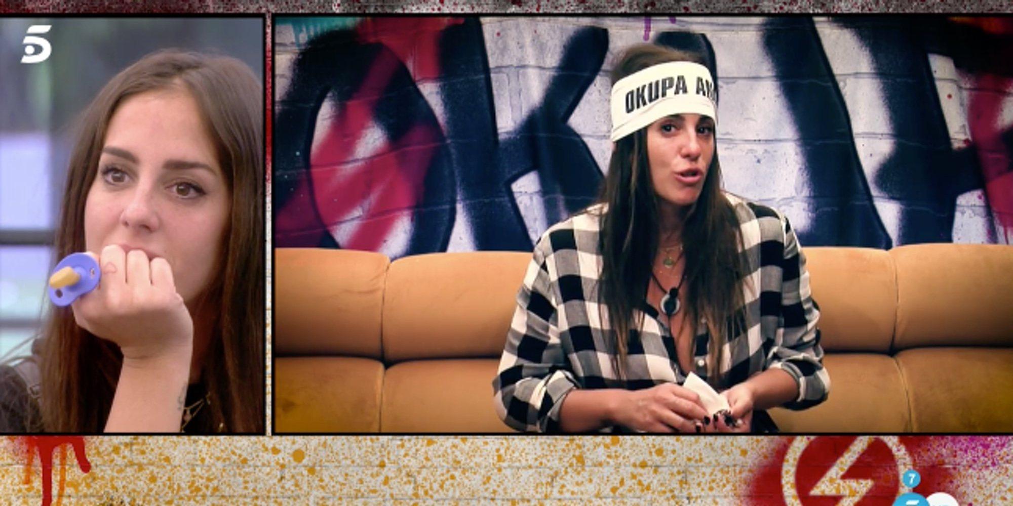 """Anabel Pantoja abre su corazón en 'Sálvame Okupa': """"Lo he pasado tan mal, necesito plantar el huevo"""""""