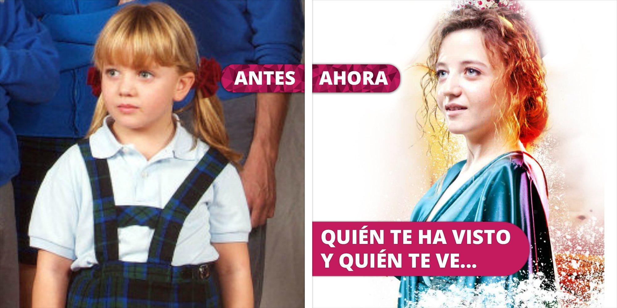 Así ha cambiado Carlota García: De la niña Paula en la serie 'El internado' a una adulta en el teatro