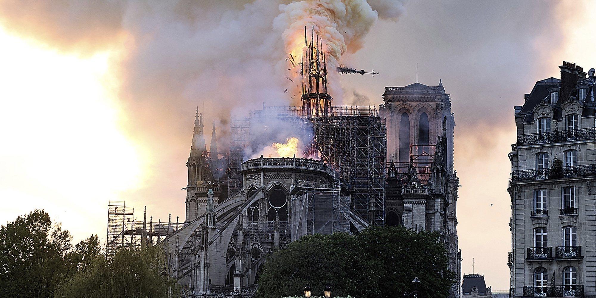 El marido de Salma Hayek donará cerca de 100 millones de euros para la reconstrucción de Notre Dame