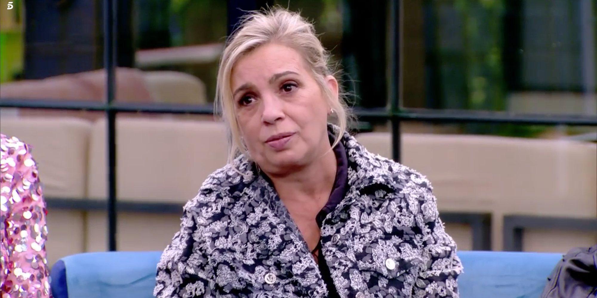 Kiko Hernández desvela que Carmen Borrego está de vacaciones a pesar de estar de baja