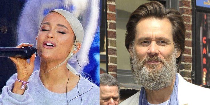 Jim Carrey manda mensajes de apoyo a Ariana Grande tras hablar públicamente de la depresión