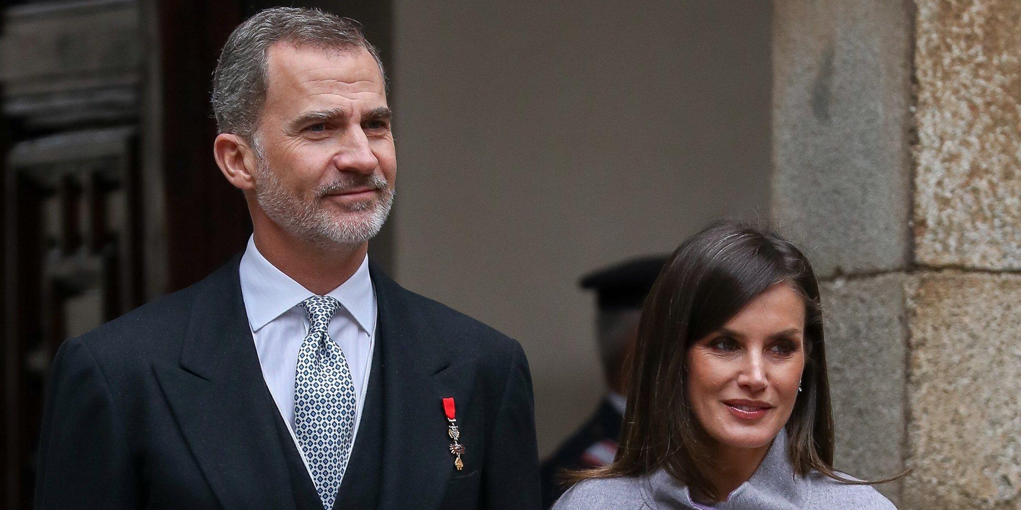 Los Reyes Felipe y Letizia vuelven a la agenda oficial tras la Semana Semana con la entrega del Cervantes 2018