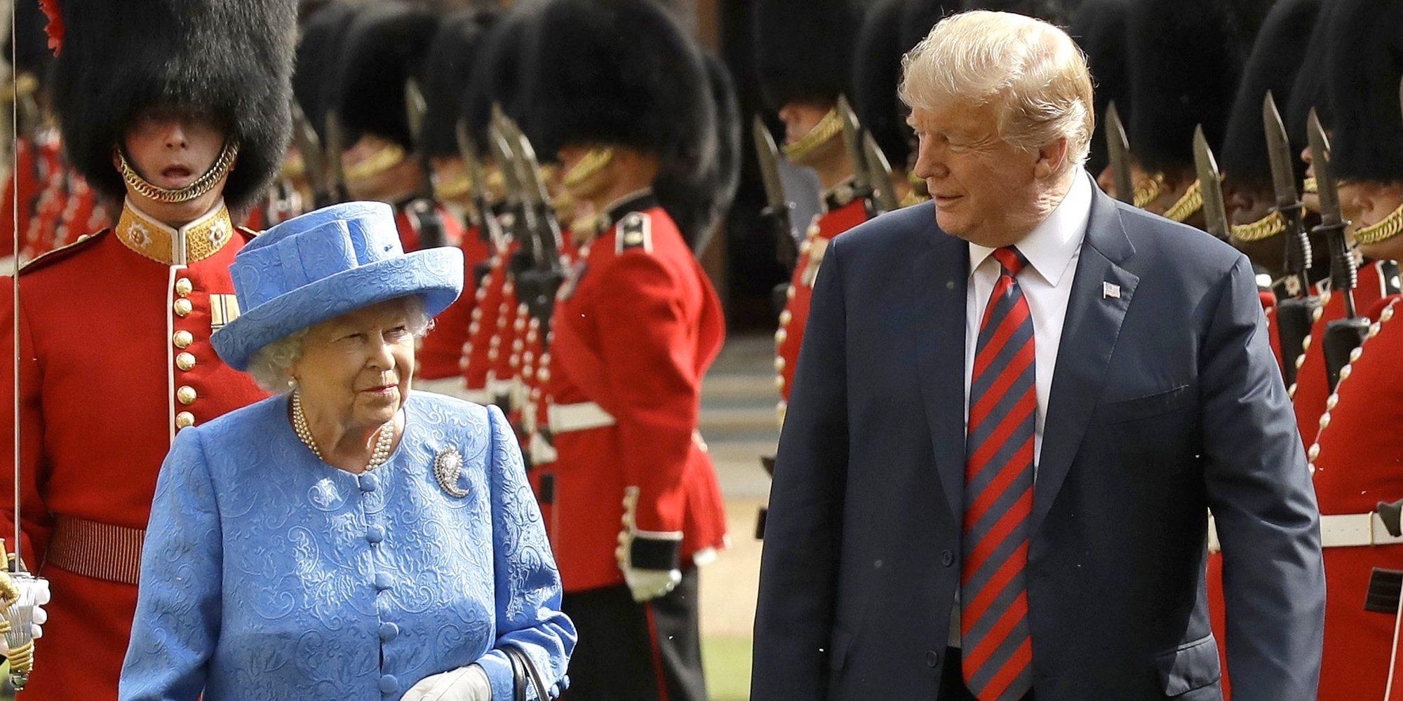 De la metedura de pata de Donald Trump con la Reina Isabel a la pillada de James Mountbatten Windsor al volante