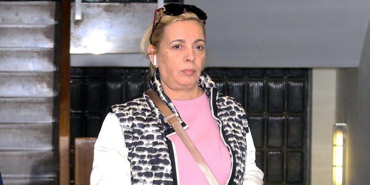 Carmen Borrego, en el centro de la polémica: Ahora sí que iba con collarín por Santander