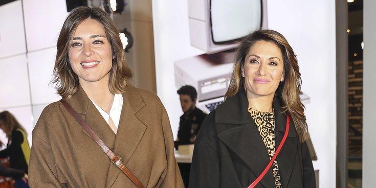 """El beso más reivindicativo de Sandra Barneda y Nagore Robles: """"Estoy enamorada de mi novia, somos una familia"""""""