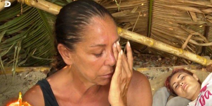 La petición de Isabel Pantoja a la audiencia de 'Supervivientes 2019' tras un momento de bajón