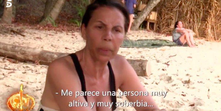 """Toñi Salazar carga contra Isabel Pantoja en 'SV 2019': """"Me parece una persona muy altiva y muy soberbia"""""""