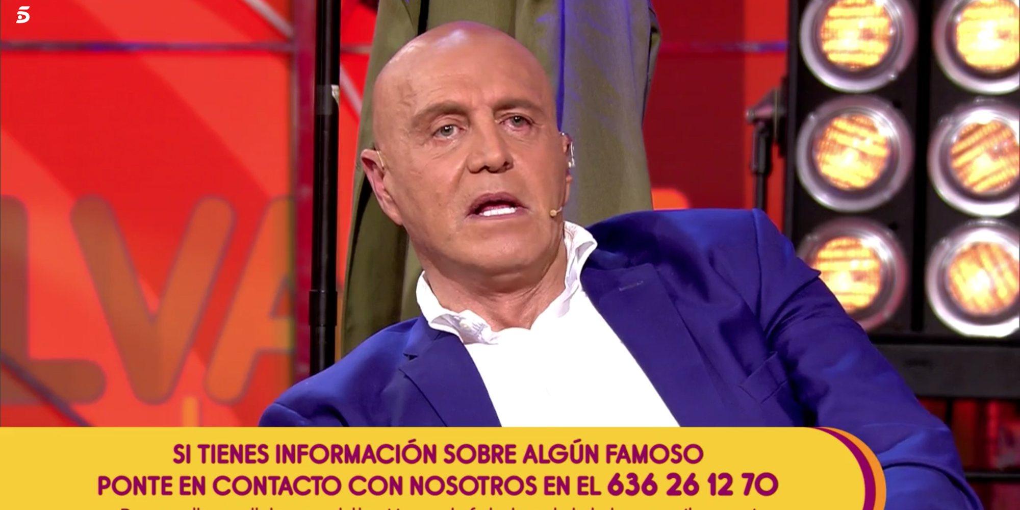 """Kiko Matamoros amenaza a Javier Tudela: """"Lo que vas diciendo de mi novia me lo vas a explicar a mí"""""""