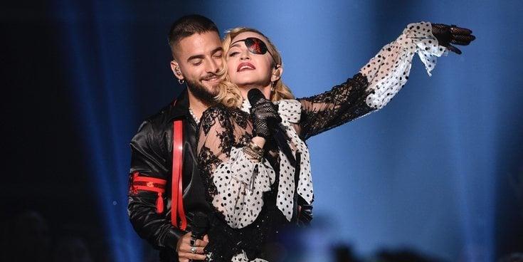 Madonna y Maluma brillan con su actuación en los Billboard Music Awards 2019