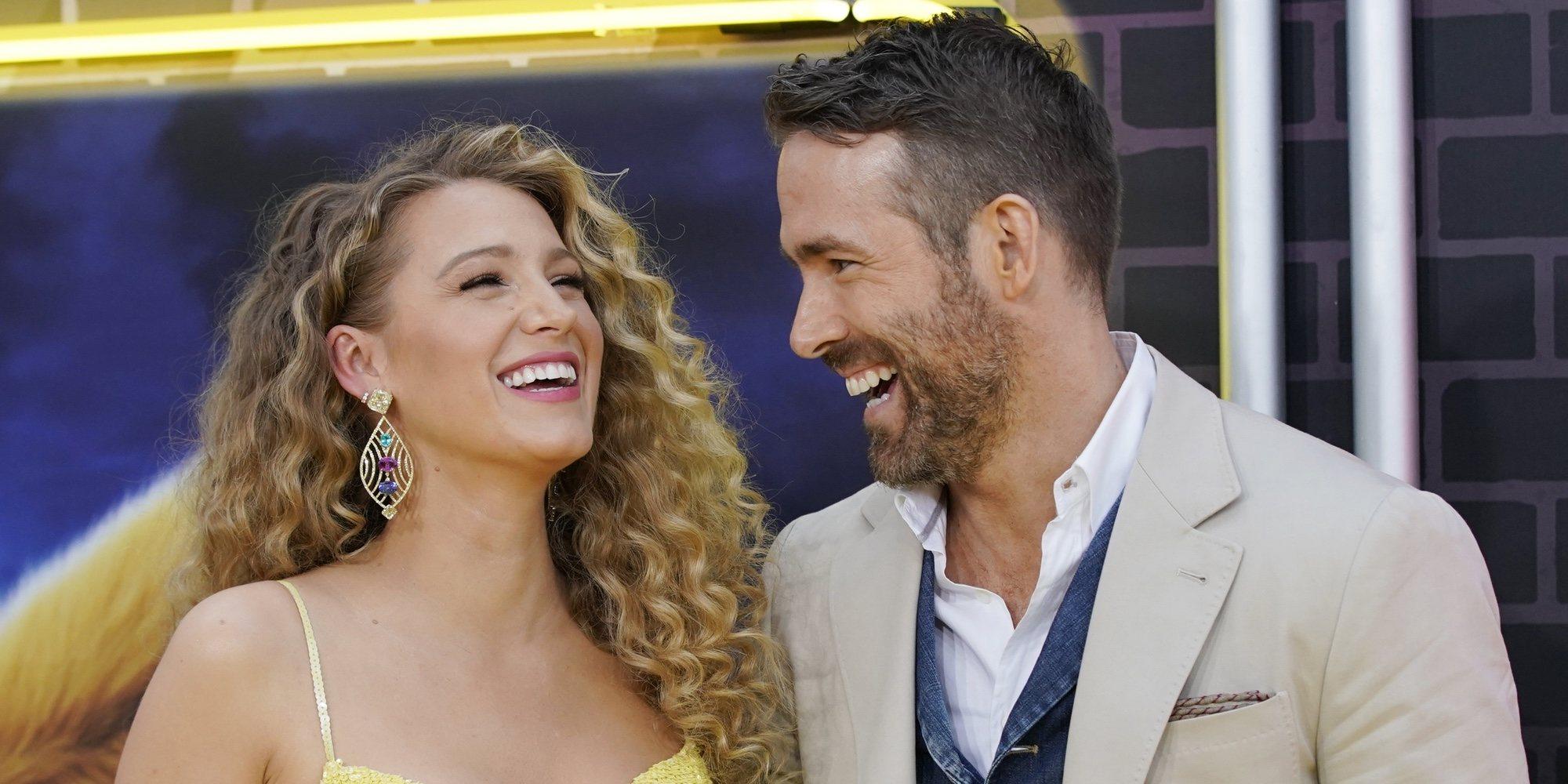 Blake Lively y Ryan Reynolds serán padres por tercera vez