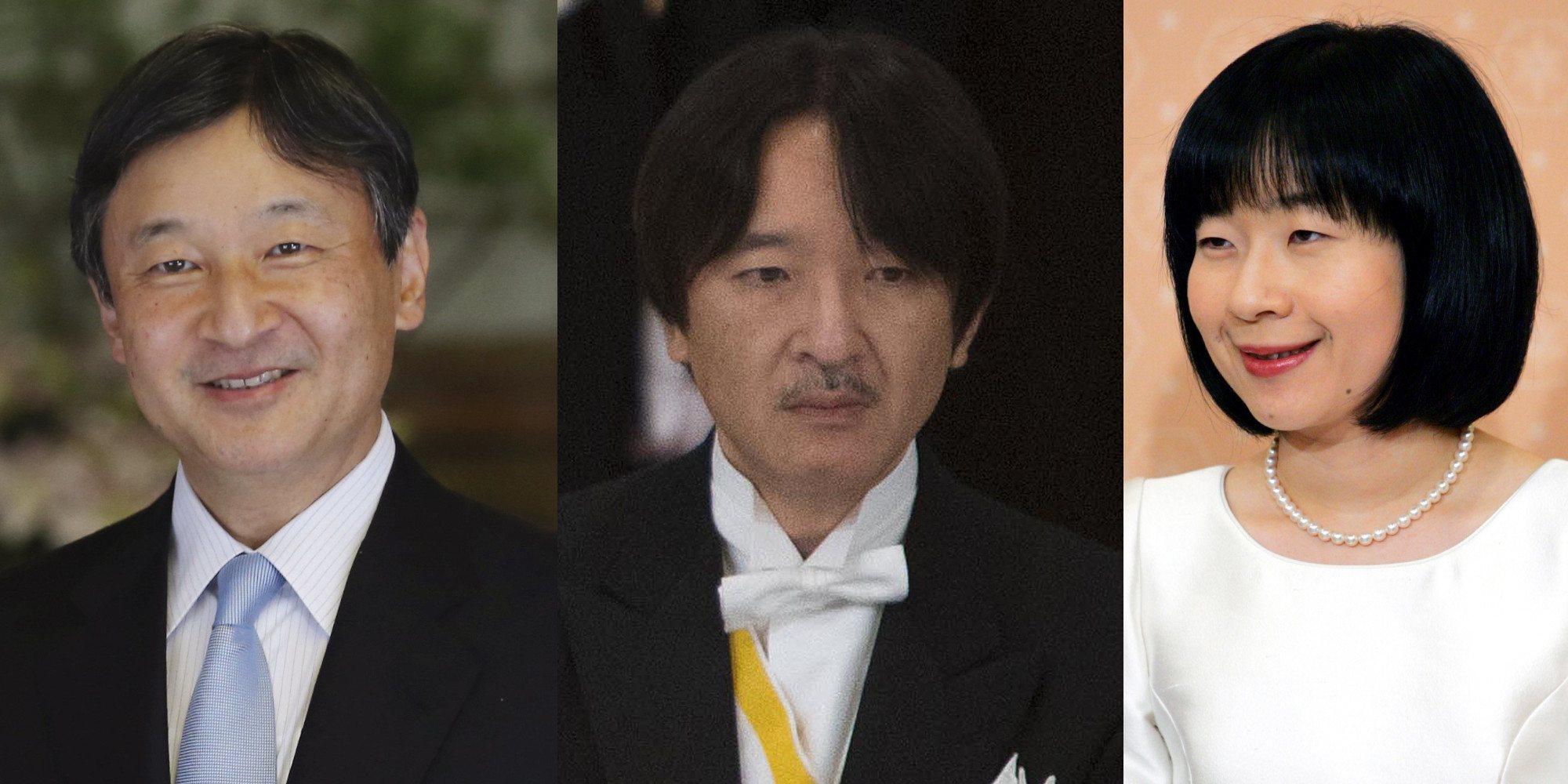 Rigidez, disciplina imperial, renuncias y tensiones: Así son y así se llevan el Emperador Naruhito de Japón y sus hermanos