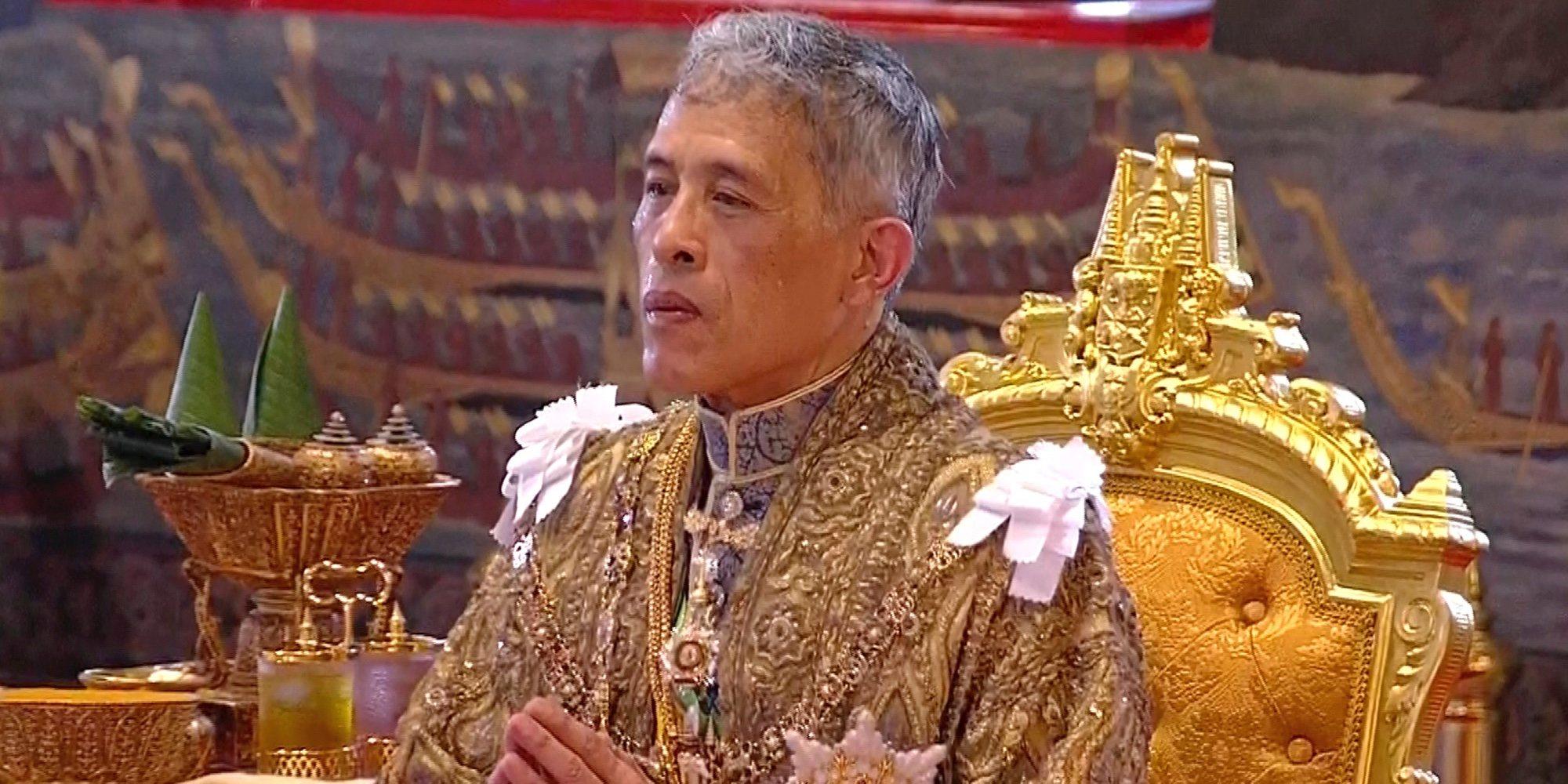 La extravagante coronación de Rama X, el nuevo Rey de Tailandia: millones de euros y tres días de celebración