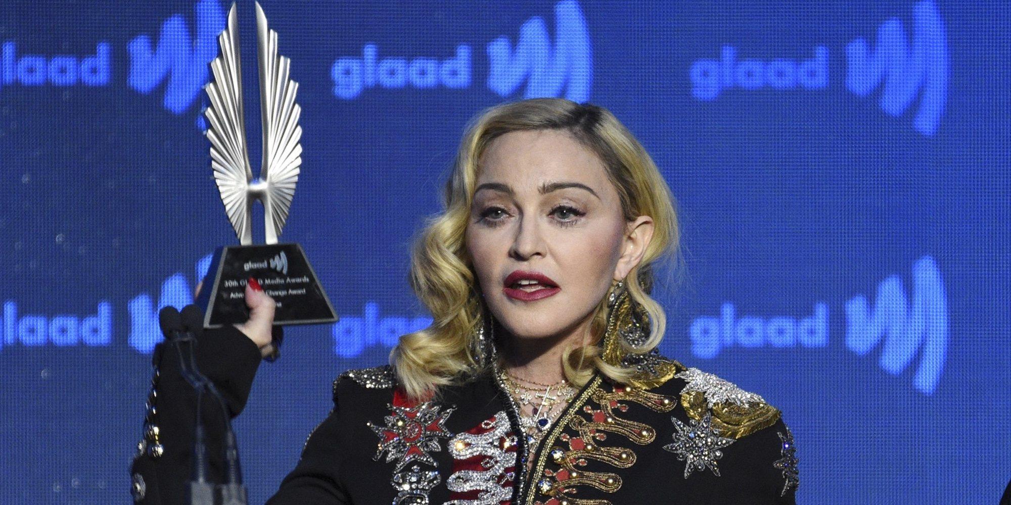 Madonna gana el premio Glaad 2019 por defender al colectivo LQTBIQ