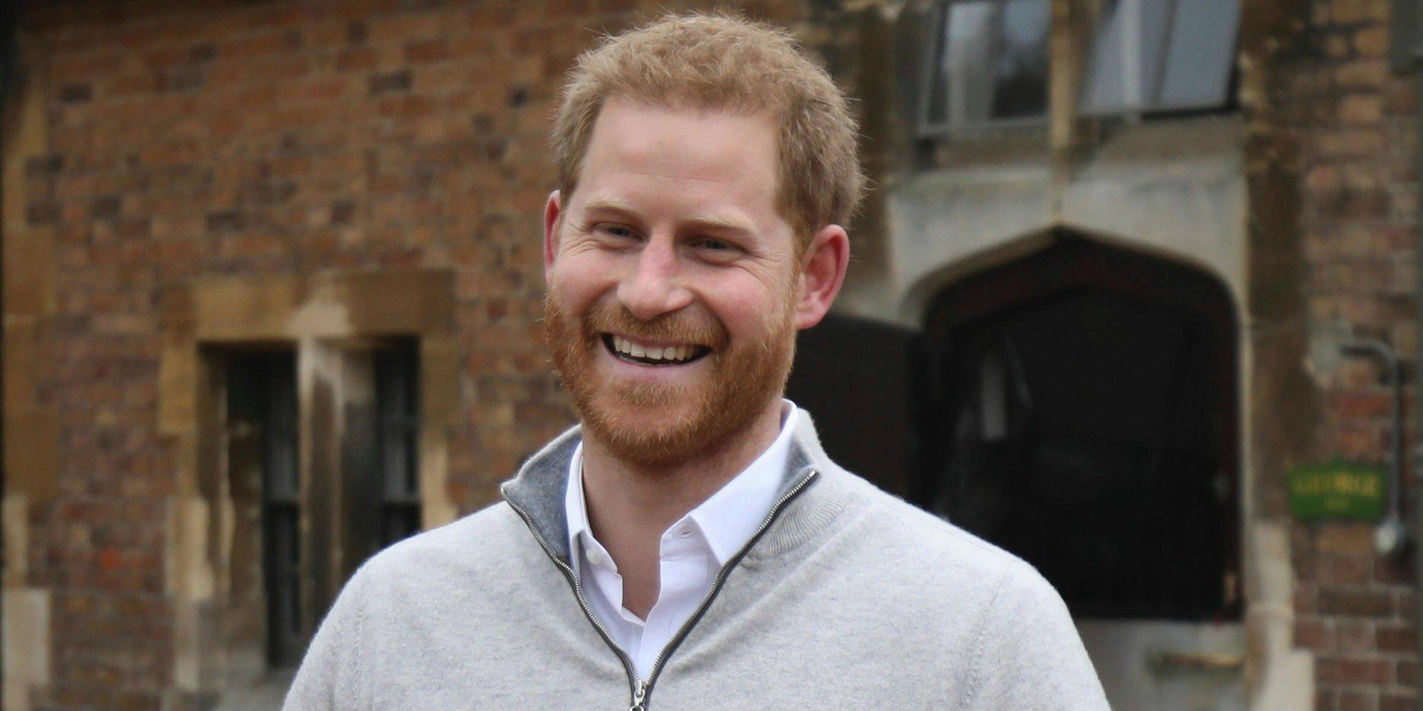 """Primeras palabras del Príncipe Harry tras el nacimiento de su primer hijo: """"Es increíble"""""""