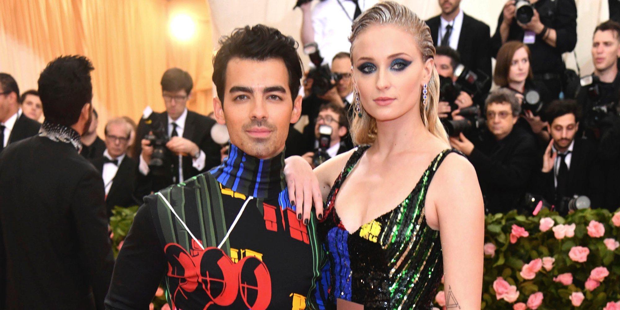 b48298b78 Joe Jonas y Sophie Turner  así ha sido su primera aparición como marido y  mujer