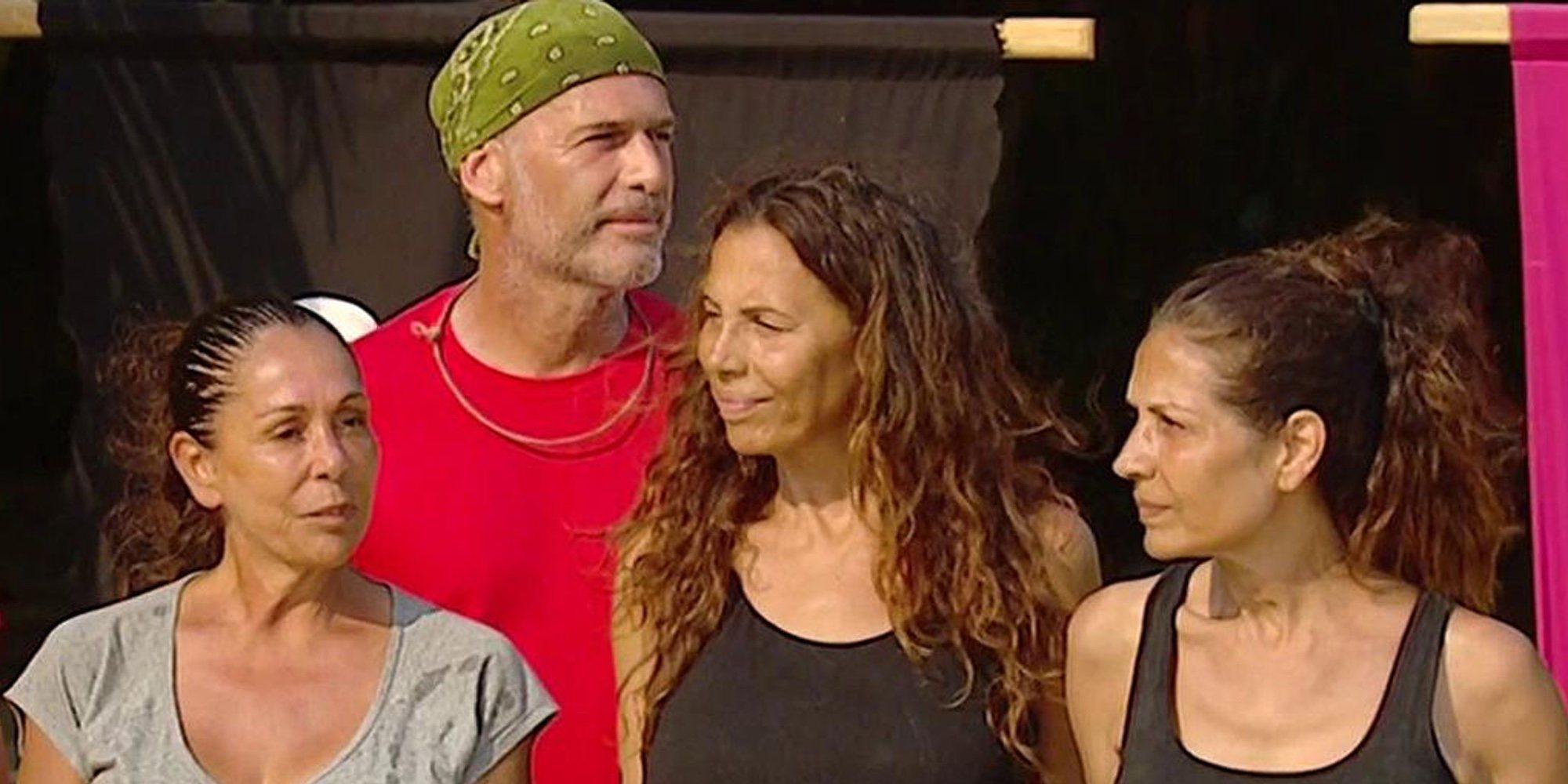 Isabel Pantoja y las Azúcar Moreno deciden quedarse en 'Supervivientes 2019' tras la discusión con Lozano
