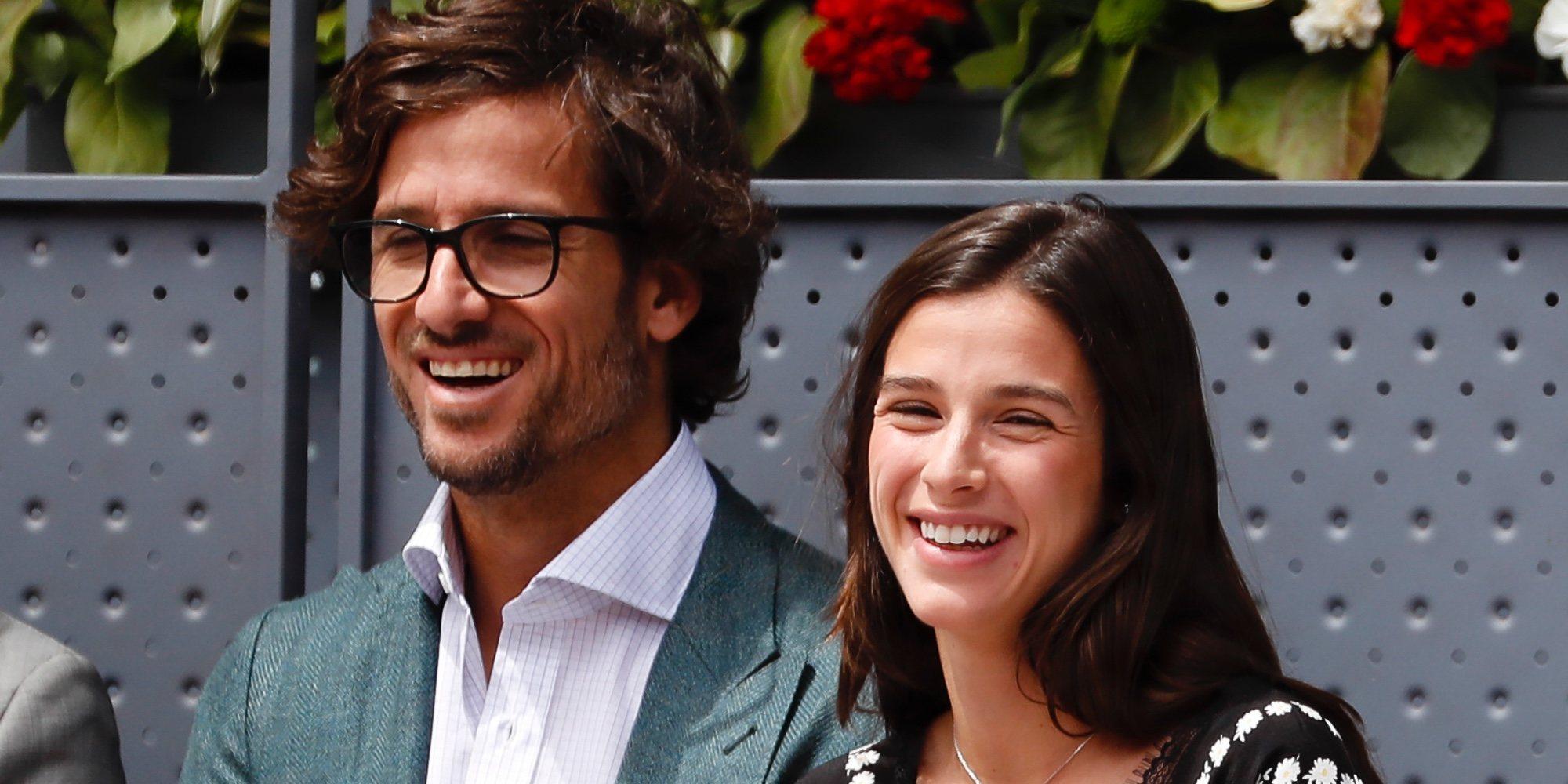 Feliciano López y Sandra Gago presumen de amor y complicidad en el Madrid Open 2019