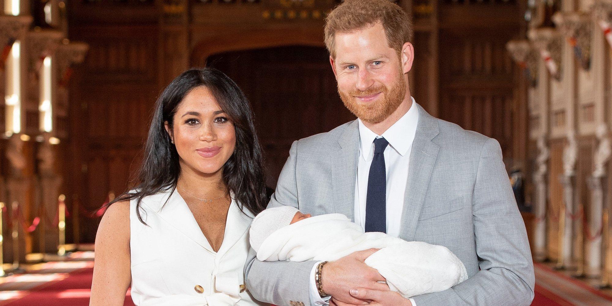 El Príncipe Harry y Meghan Markle presentan a su primer hijo
