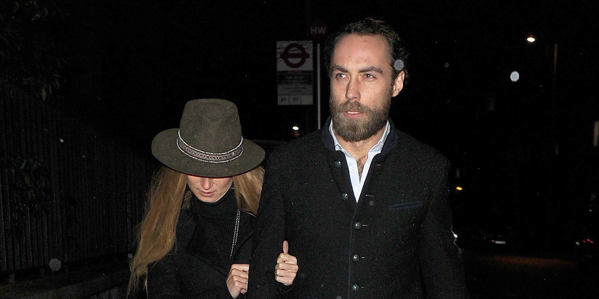 James Middleton confirma su relación con Alizee Thevenet