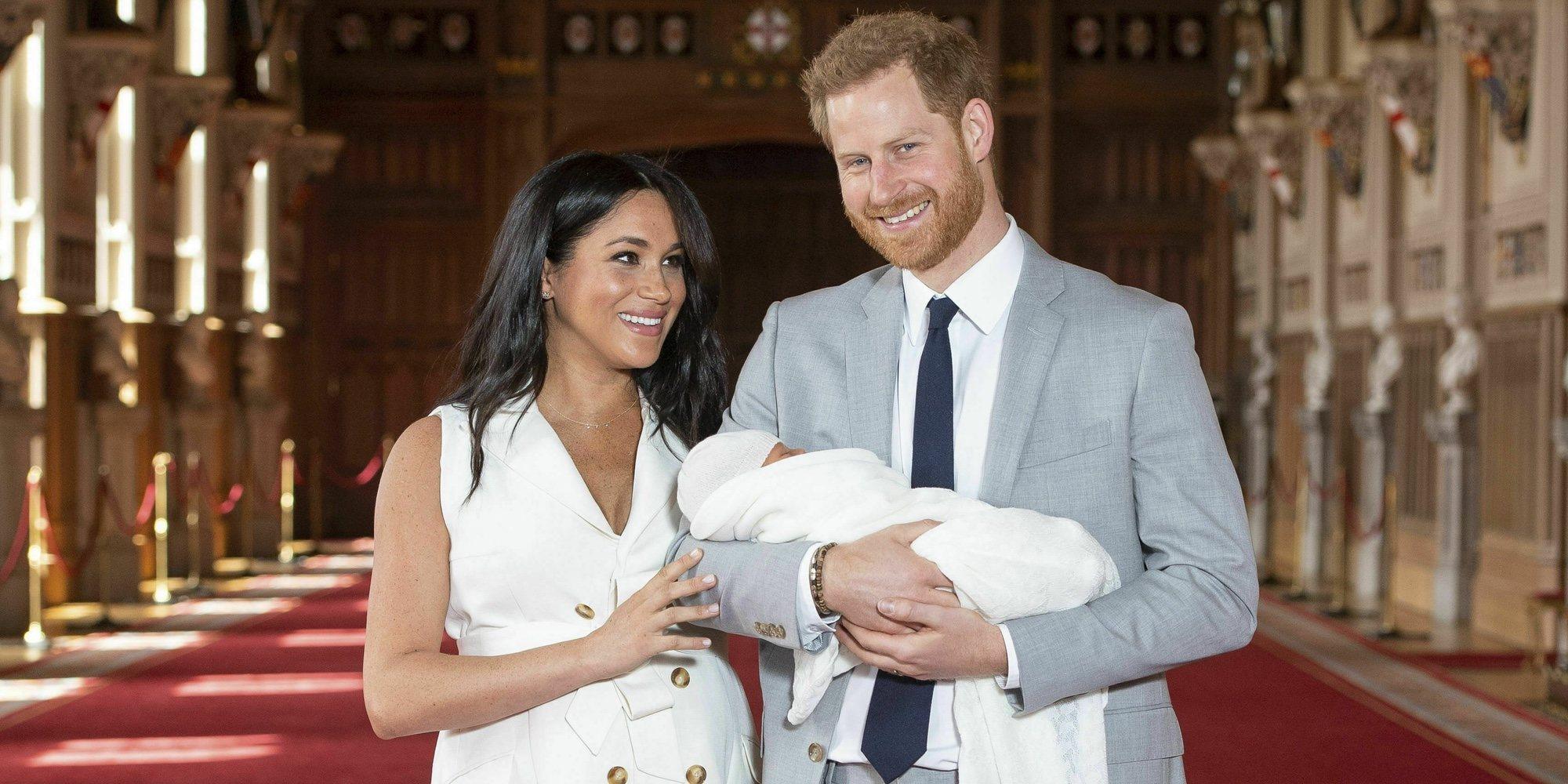 El primer hijo del Príncipe Harry y Meghan Markle se llama Archie Harrison Mountbatten-Windsor