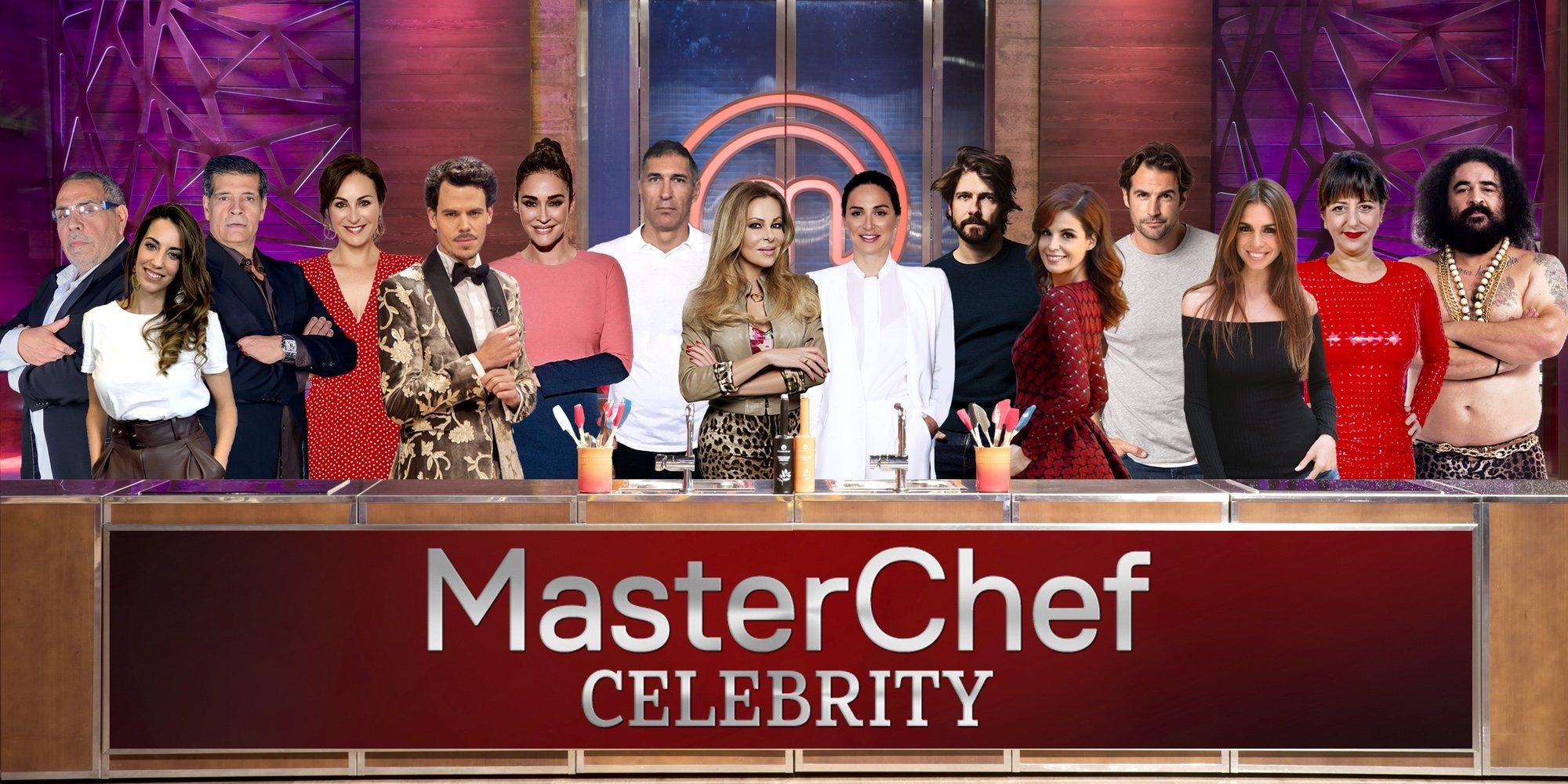 La lista de los famosos que competirán en 'MasterChef Celebrity 4'