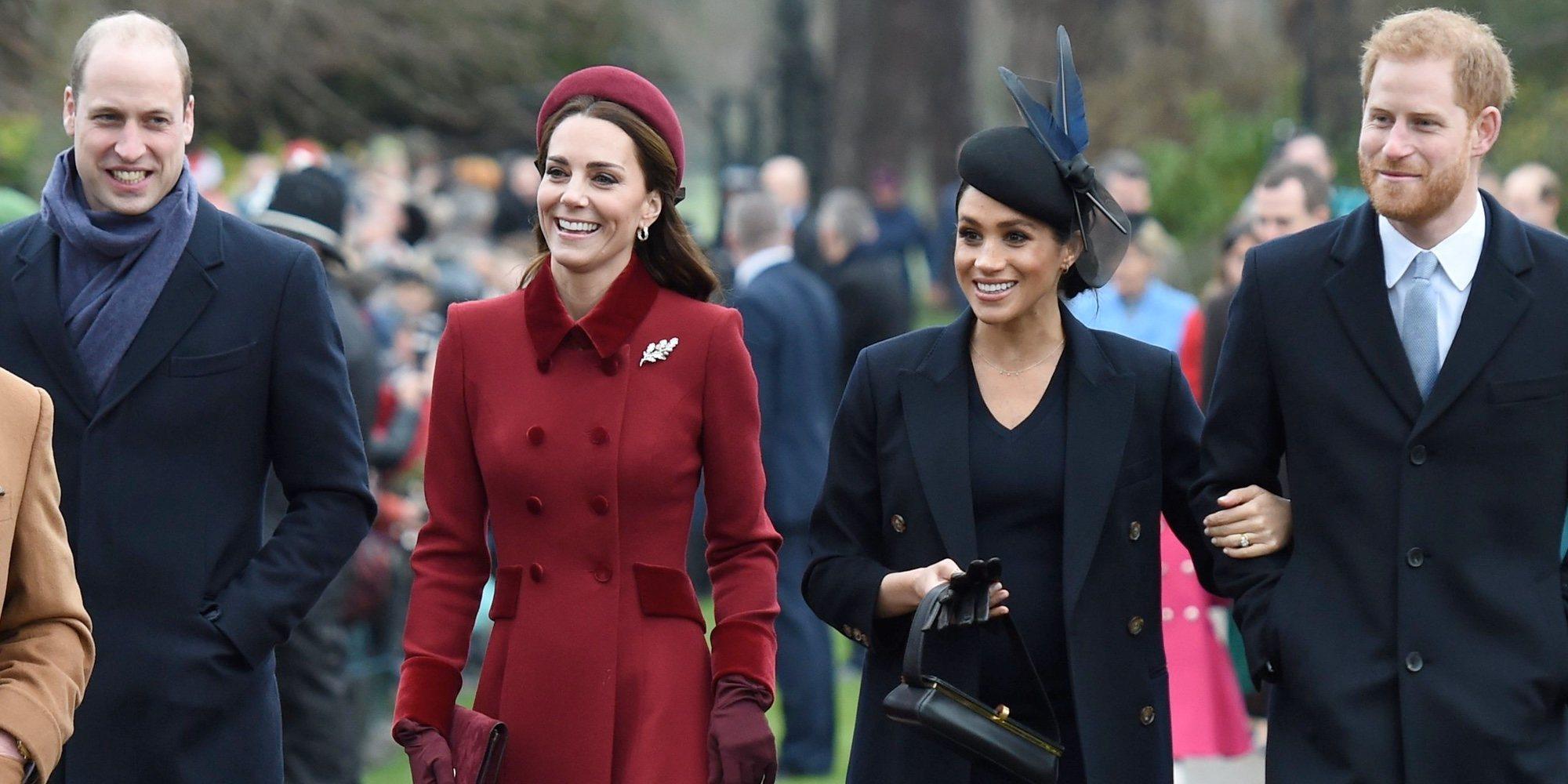 El proyecto solidario que une de nuevo a los Duques de Cambridge y los Duques de Sussex