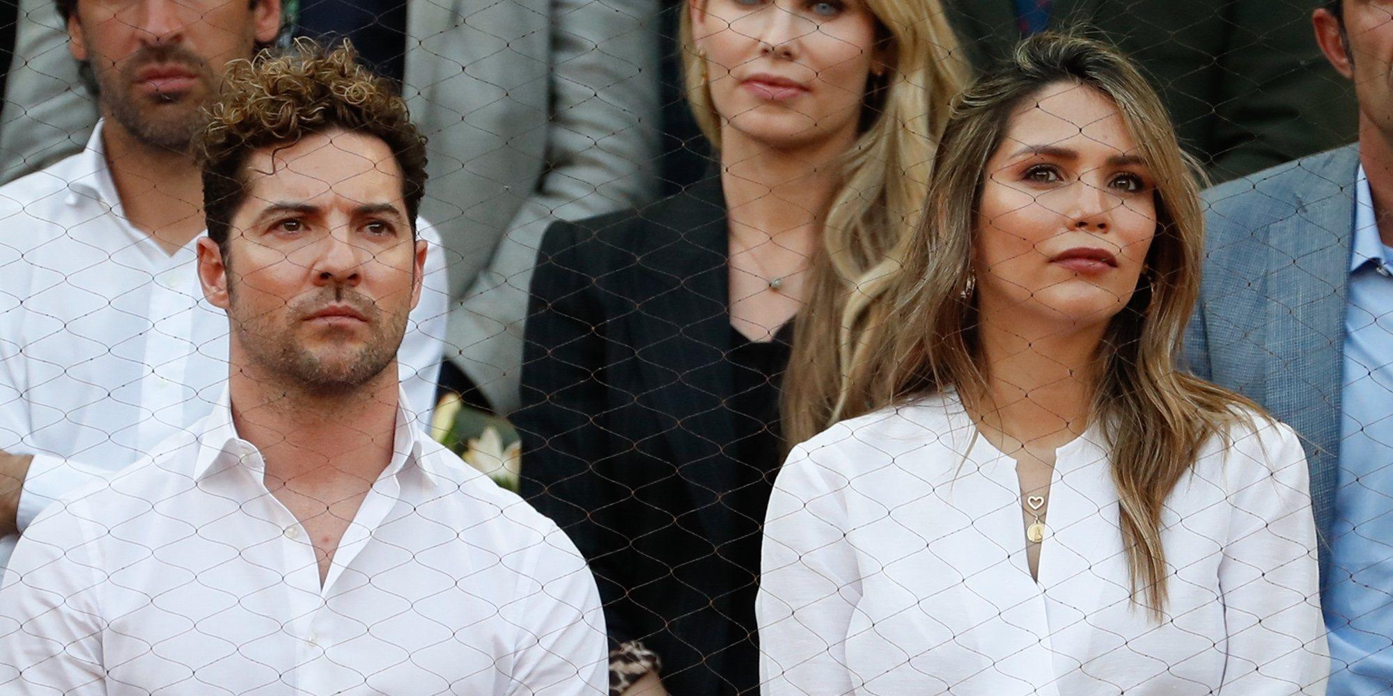 David Bisbal y Rosanna Zanetti aparecen por primera vez en un evento después de haber sido padres